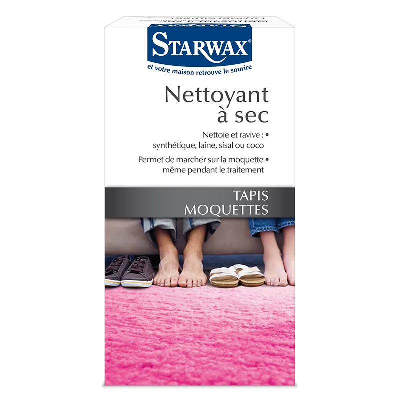 nettoyant sec pour tapis et moquettes starwax. Black Bedroom Furniture Sets. Home Design Ideas