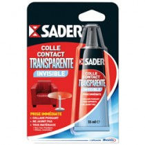 SADER COLLE CONTACT TRANSPAR.TUBE 55ML
