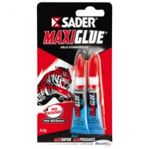 SADER MAXIGLUE GEL 3G LOT DE 2