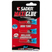 Maxiglue Mini Gel 3X1G - Sader