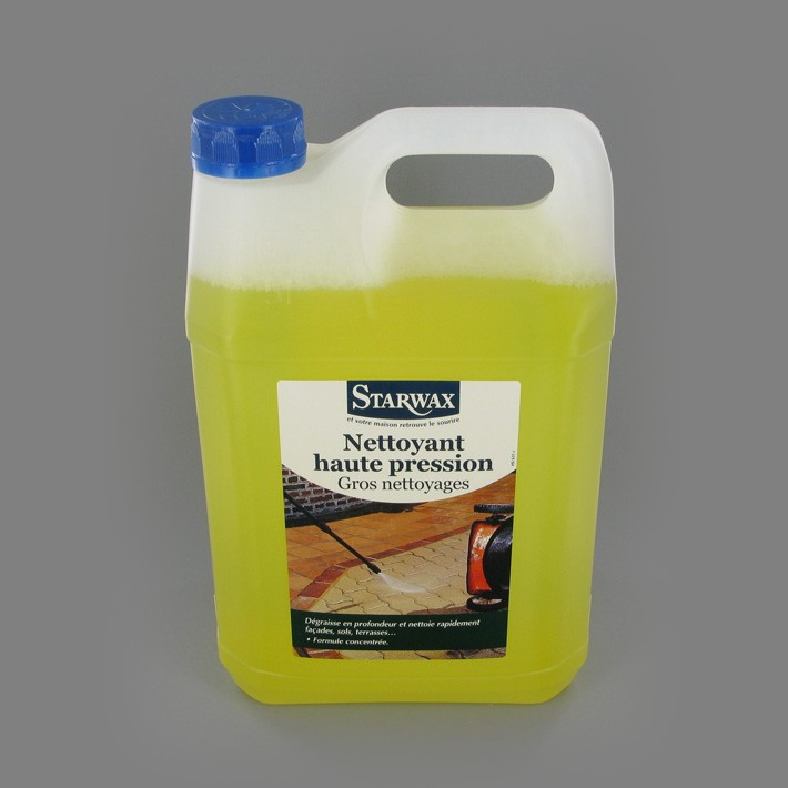 Nettoyant haute pression gros nettoyages 5L. - Starwax.