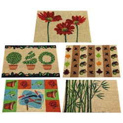 TAPIS COCO COLL.NATURE BLANCH.40X60 AS