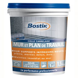 COLLE CARRELAGE PATE 1.5KG BOST.112302