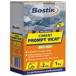 CIMENT PROMPT 1KG VICAT BOSTIK  124880