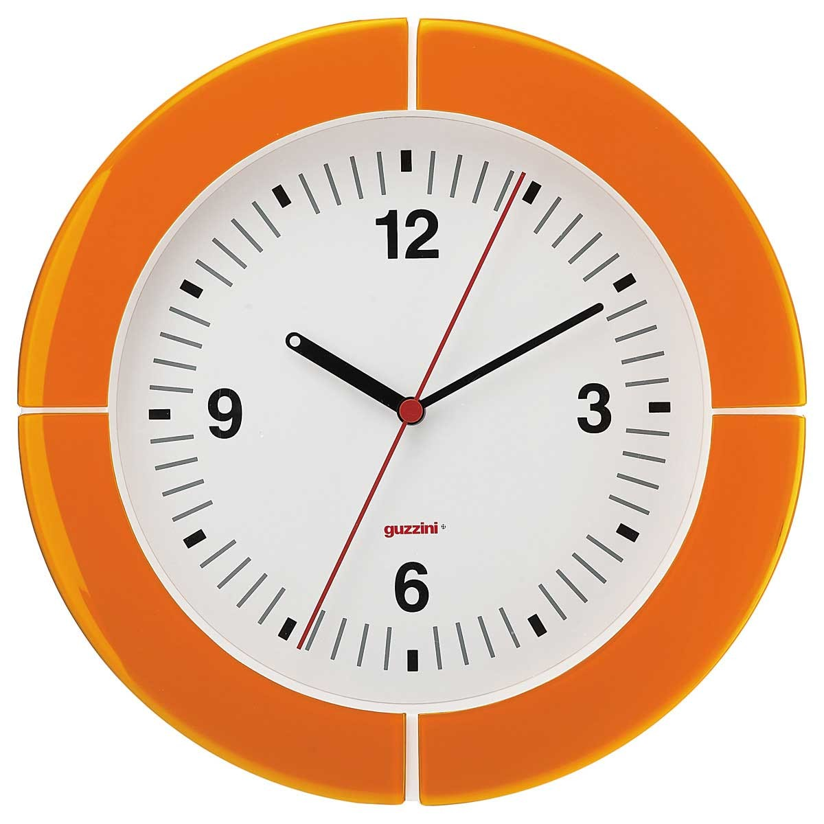 Pendule murale i-Clock Orange - Guzzini