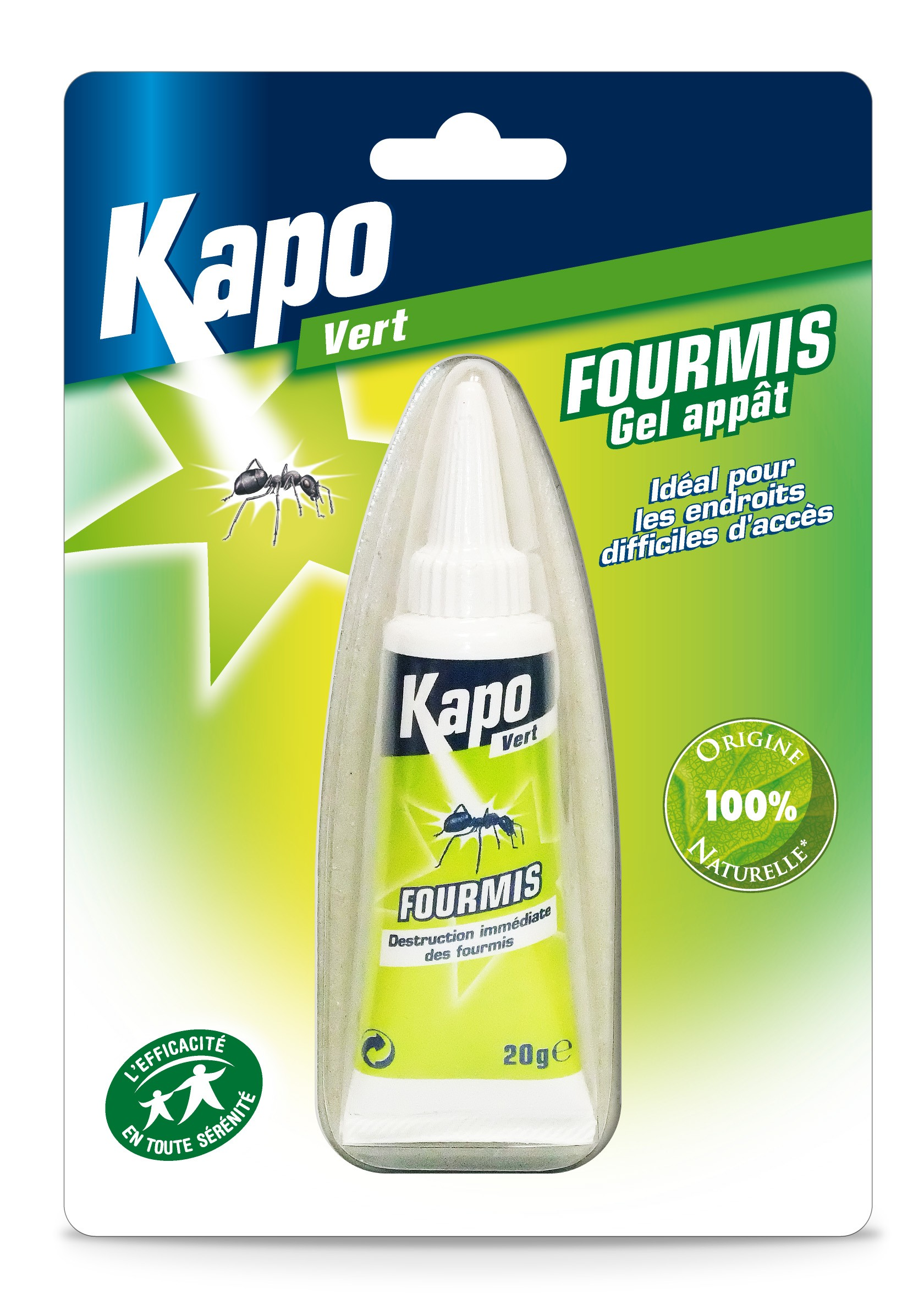 Tube Gel Anti-Fourmis 20g. - Kapo.