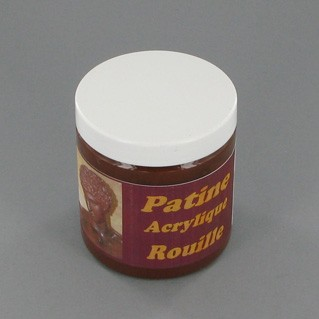 "Patine Acrylique ""Rouille"" 250ml. - Tourde."