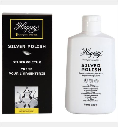 "Lotion Nettoyante Polish Argent ""Silver Polish"" 250 mL - Hagerty"