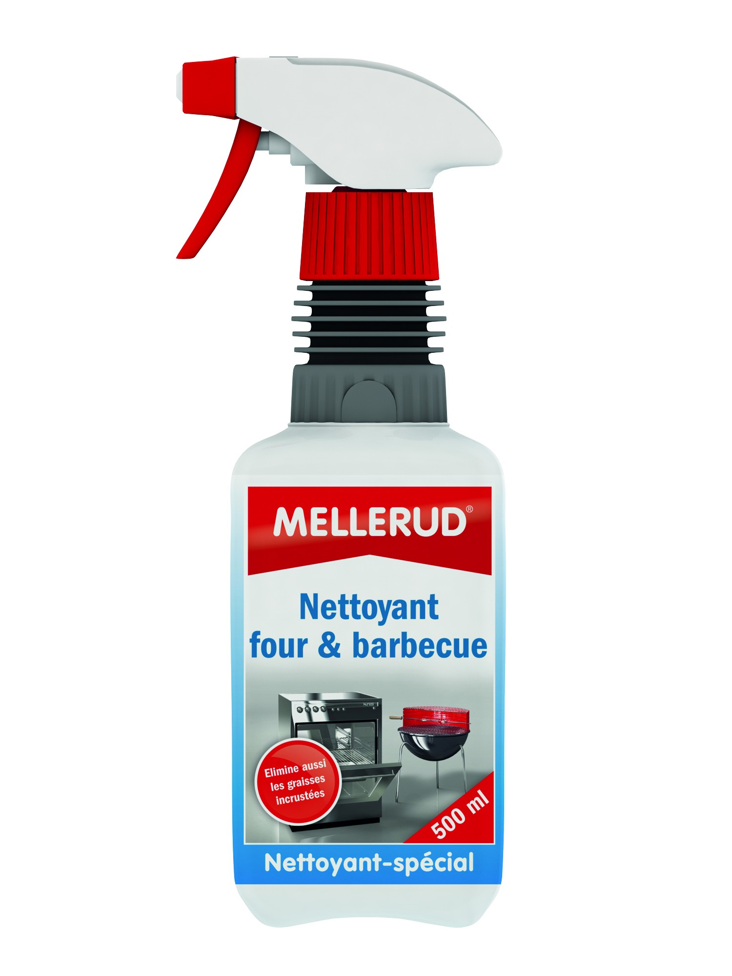 Nettoyant Four, Gril et Barbecue 500 mL - Mellerud