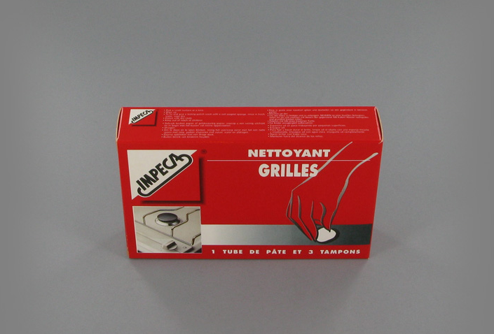 Nettoyant Grilles 50 mL + 3 Tampons - Impeca