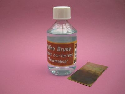 PATINE BRUNE TOURMALINE 250 ML - TOURDE