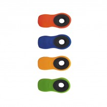 Pack 4 clips magnétiques multifonctions. - Oxo.