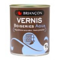 Vernis boiseries aqua 250ml incolore brill. - Briancon