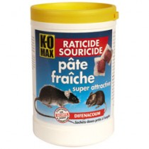 KOMAX RATICIDE SOURICIDE PATE 400G  XP