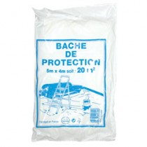BACHE PROTECTION 4MX5M POLYPR.4213000A