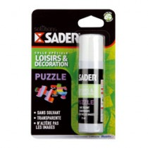 SADER COLLE POUR PUZZLE FLAC.75ML BL.