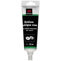 Graisse calcique rose tube pegboardable - GEB