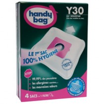 Sac aspirateur handy bag non tissé x4 moulinex y30 - HANDY BAG