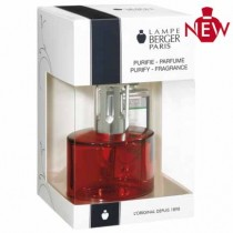 Lampe Berger Coffret Ovalie Rouge - Berger