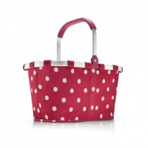 Sac shopping 'Carrybag' ruby dots  - Reisenthel