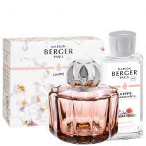 "Coffret Lampe Berger Poesy & Recharge ""Bouquet Liberty"" 180 mL - Berger"