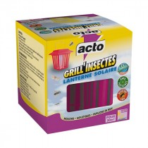 Grill'Insectes Lanterne Solaire - Acto