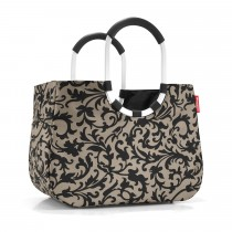 Sac shopping Loopshopper L baroque taupe- Reisenthel