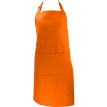 Tablier MÜCoton Long Orange (68x88 cm). - MÜkitchen.