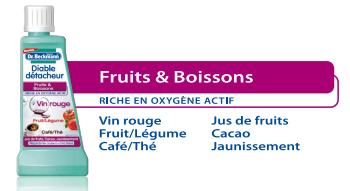 Détacheur Dr.Beckmann Fruits et Boissons